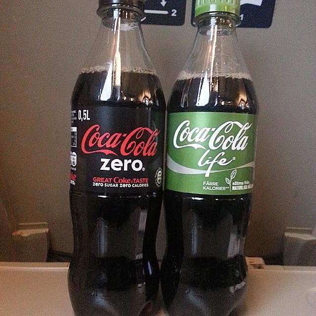 coca cola sockerbitar